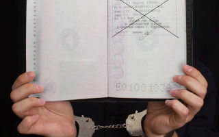 Какой предусмотрен штраф за отсутствие прописки или за просроченную