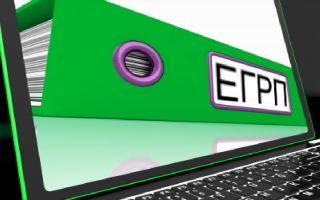 Стоимость выписки из реестра ЕГРН (ЕГРП), где получить