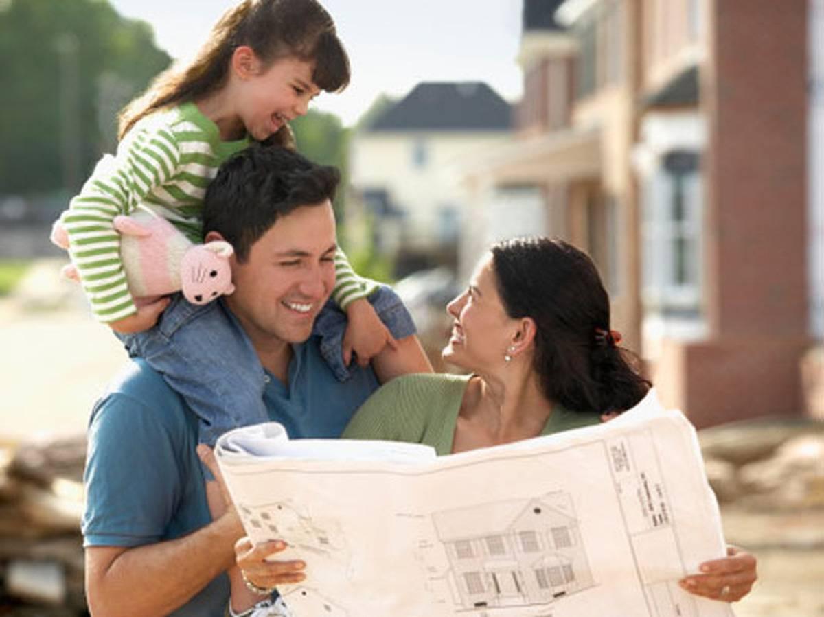 Семья с планом