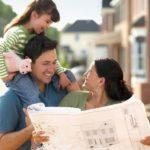Семья с планом дома