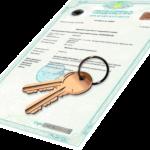 Свидетельство и ключи