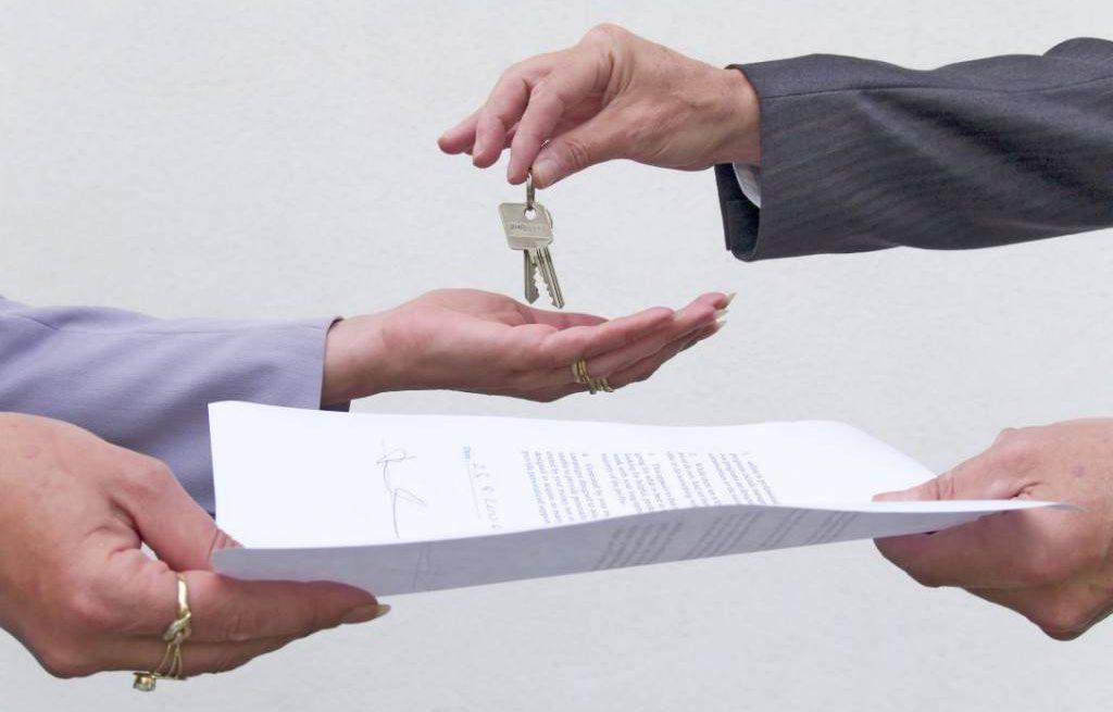Договор и ключи от квартиры